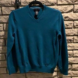 Banana Republic 100% Merino Wool V-Neck Sweater